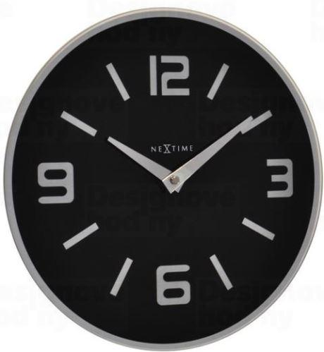 Dizajnové nástenné hodiny 8148zw Nextime Shuwan 43cm