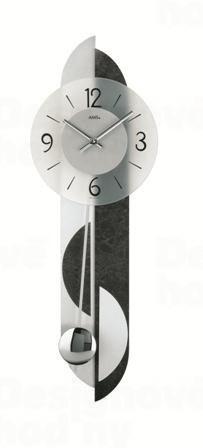 Kyvadlové nástenné hodiny 7299 AMS 69cm