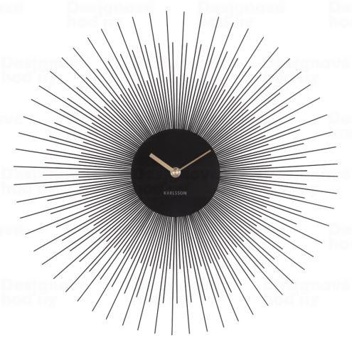 Dizajnové nástenné hodiny 5817BK Karlsson 45cm
