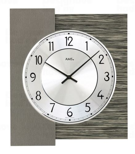 Dizajnové nástenné hodiny 9584 AMS 29cm
