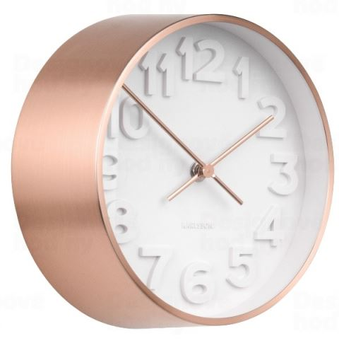 Dizajnové nástenné hodiny 5692CO Karlsson 22cm