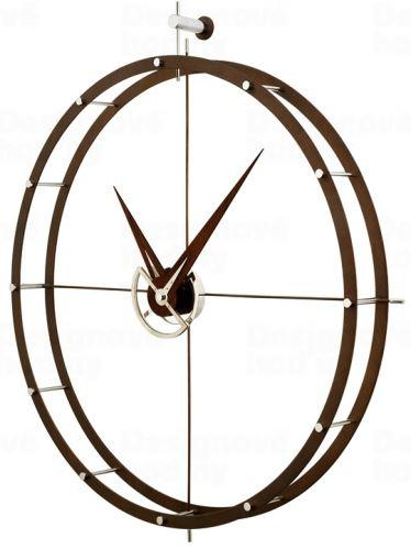 Dizajnové nástenné hodiny Nomon Doble ON 80cm