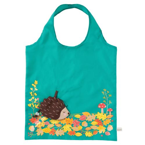 Skladacia taška TROPICAL WATERMELON Sass & Belle, polyester - žltá / červená