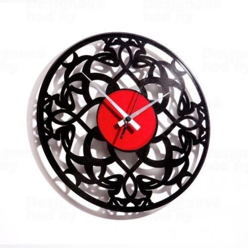 Dizajnové nástenné hodiny Discoclock 031 Deco 30cm