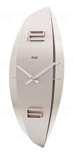 Dizajnové nástenné hodiny 9602 AMS 45cm