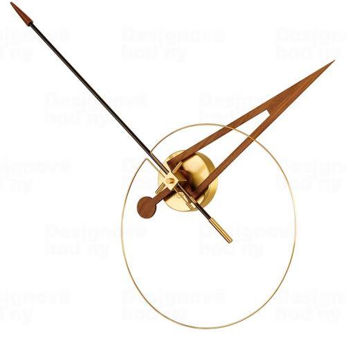 Luxusné dizajnové nástenné hodiny Nomon Cris Gold 70cm