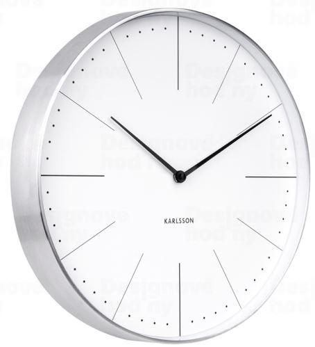 Dizajnové nástenné hodiny 5681WH Karlsson 38cm