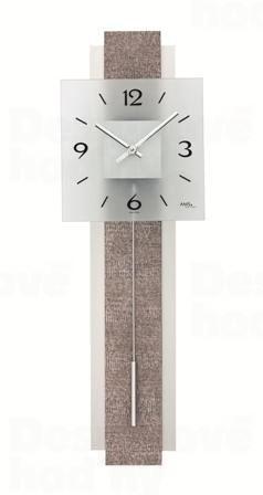 Kyvadlové nástenné hodiny 7323 AMS 68cm