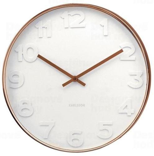Dizajnové nástenné hodiny KA5588 Karlsson 38cm
