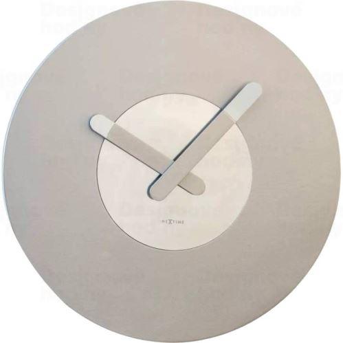 Dizajnové nástenné hodiny 3189zi Nextime In Touch 40cm