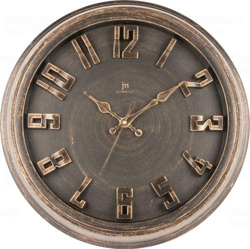 Dizajnové nástenné hodiny 00825R Lowell 40cm