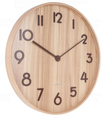 Dizajnové nástenné hodiny 5810WD Karlsson 60cm