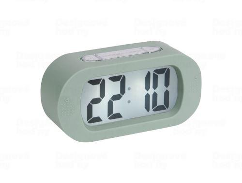 Stolové digitálne hodiny-budík Karlsson KA5753GR