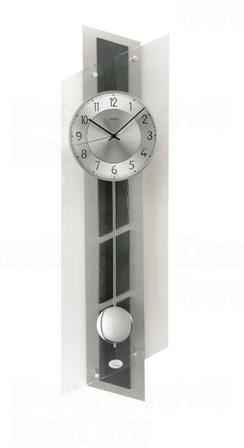 Kyvadlové nástenné hodiny 5217 AMS riadené rádiovým signálom 84cm