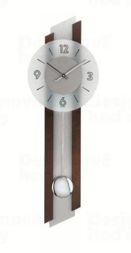 Kyvadlové nástenné hodiny 7207/1 AMS 62cm