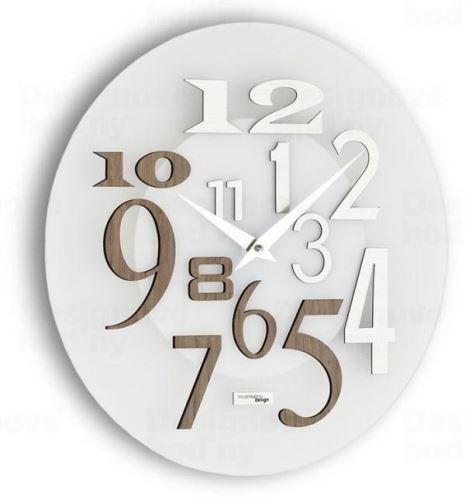 Dizajnové nástenné hodiny I036GRA IncantesimoDesign 35cm