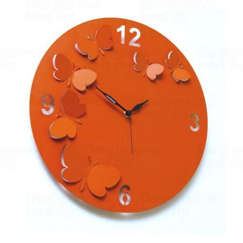 Dizajnové hodiny D & D 206 Meridiana 38cm (viac farebných verzií) Meridiana farby kov čierny lak