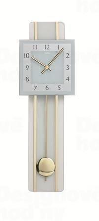 Kyvadlové nástenné hodiny 7308 AMS 65cm