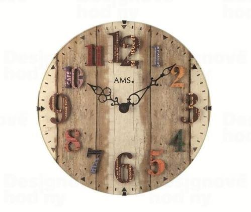Nástenné hodiny 9423 AMS 30cm
