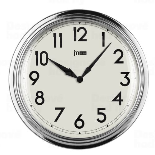Dizajnové nástenné hodiny 21465 Lowell 31cm