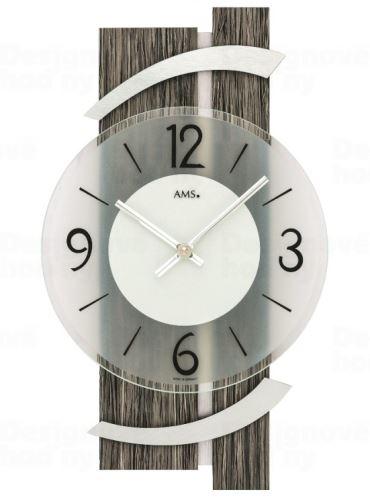 Nástenné hodiny 9547 AMS 40cm