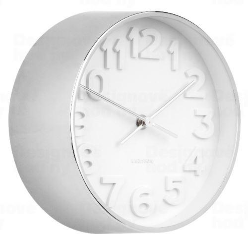 Dizajnové nástenné hodiny 5692CH Karlsson 22cm