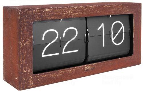 Dizajnové nástenné / stolové preklápací hodiny 5642RS Karlsson 37cm