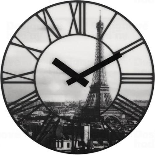 Dizajnové nástenné hodiny 3004 Nextime La Ville 39cm