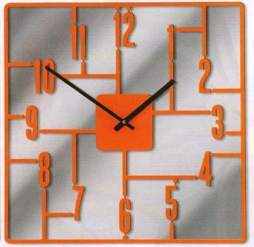 Dizajnové hodiny D & D 270 Meridiana 41cm Meridiana farby kov čierny lak