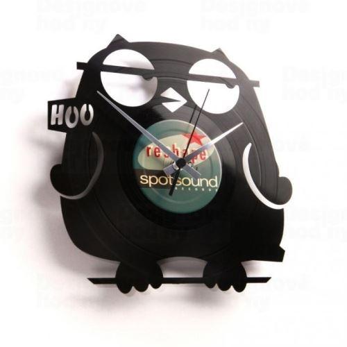 Dizajnové nástenné hodiny Discoclock 042 Wize guy 30cm