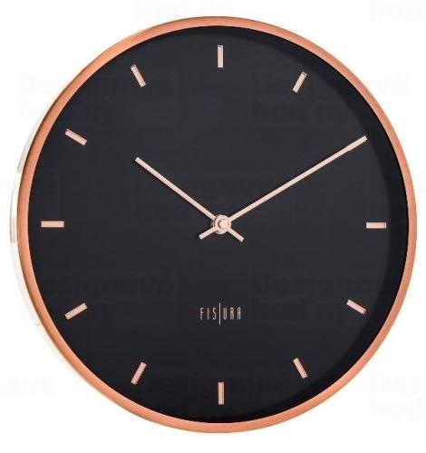 Dizajnové nástenné hodiny CL0062 fisúry 30cm