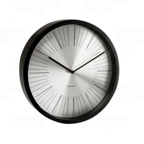 Dizajnové nástenné hodiny 5371BK Karlsson 30cm
