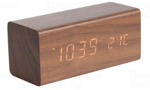 Dizajnový LED budík - hodiny 5652DW Karlsson 16cm