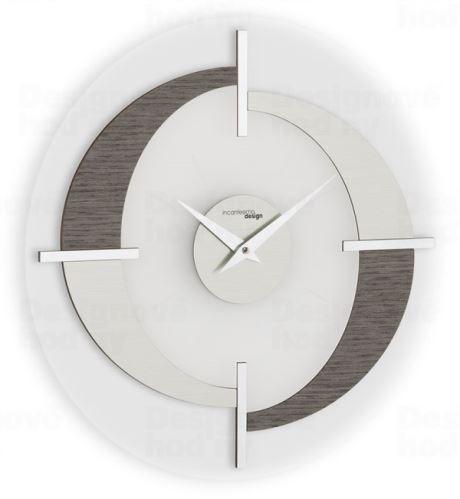 Dizajnové nástenné hodiny I192GRA IncantesimoDesign 40cm