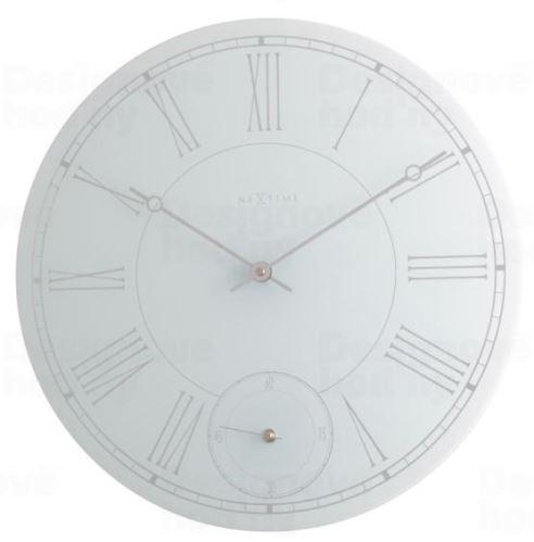 Dizajnové nástenné hodiny 8143 Nextime LOREX 43cm