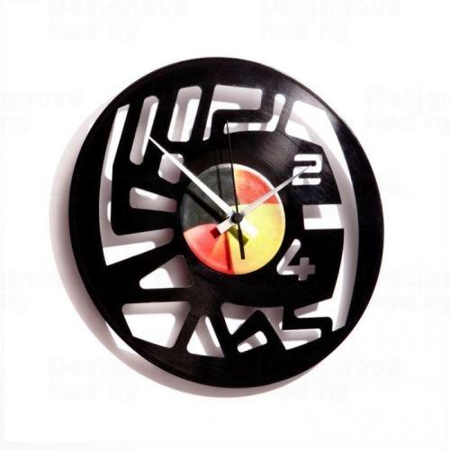 Dizajnové nástenné hodiny Discoclock 006 Numbers 30cm