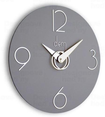 Dizajnové nástenné hodiny I501GR IncantesimoDesign 40cm