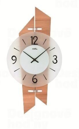 Nástenné hodiny 9346 AMS 44cm