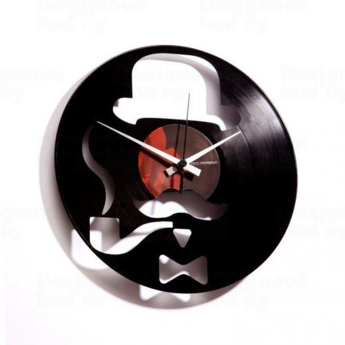 Dizajnové nástenné hodiny Discoclock 013 Harry 30cm