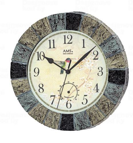 Nástenné hodiny 550 AMS riadené rádiovým signálom 26cm