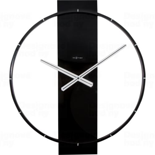 Dizajnové nástenné hodiny 3195zw Nextime Carl 58cm