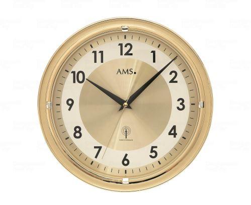Nástenné hodiny 5946 AMS riadené rádiovým signálom 30cm