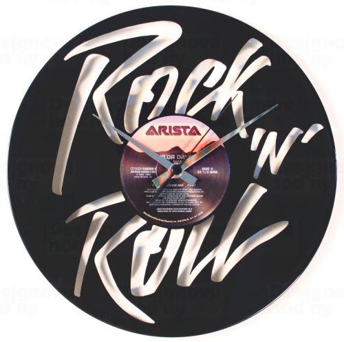 Dizajnové nástenné hodiny Discoclock 105 Rock n roll 30cm
