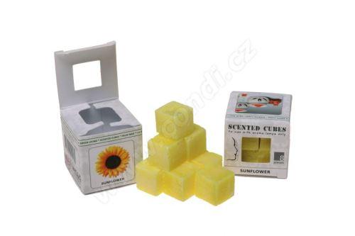 Vonnný vosk do aromalamp - sunflower (slunečnice), 8ks vonných kostiček