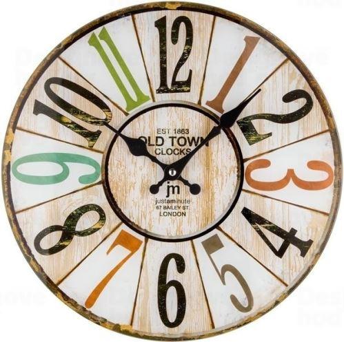 Dizajnové nástenné hodiny 14878 Lowell 34cm