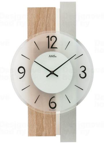 Nástenné hodiny 9554 AMS 40cm