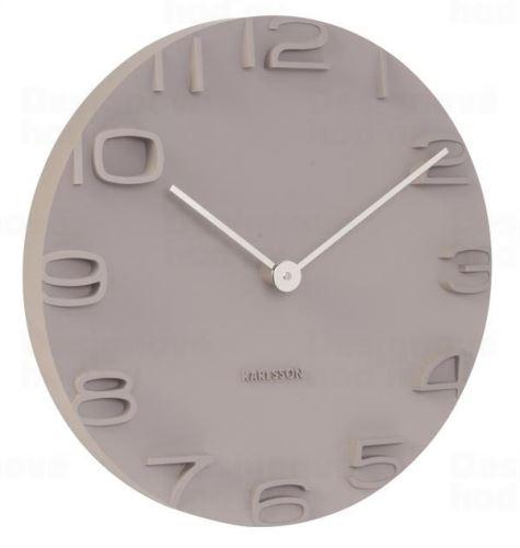 Dizajnové nástenné hodiny 5311GY Karlsson 42cm