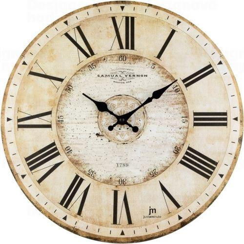 Dizajnové nástenné hodiny 21456 Lowell 34cm