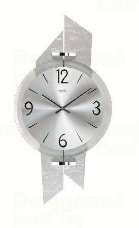 Nástenné hodiny 9345 AMS 44cm