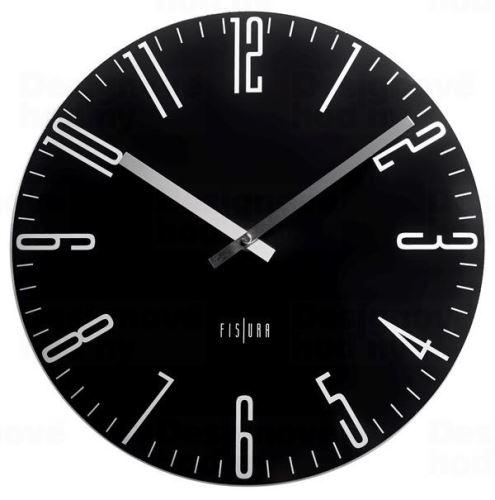 Dizajnové nástenné hodiny CL0069 fisúry 35cm